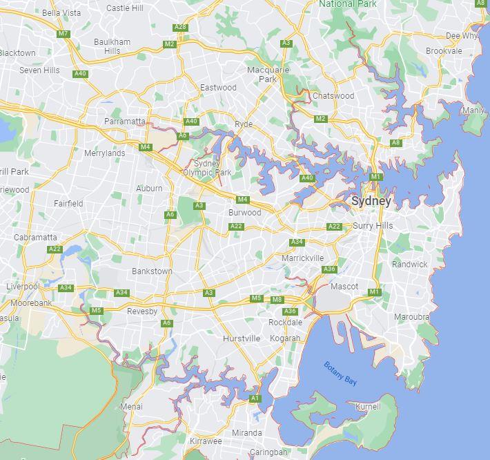 Sydney locations (1)